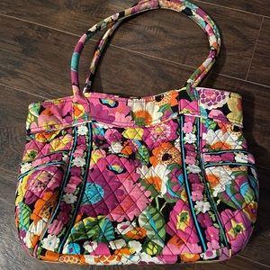 Vera Bradley bag, Va Va Bloom pattern